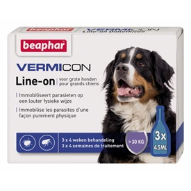 Beaphar Vermicon Line-On Grote Hond
