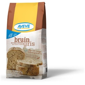 AVEVE All-in Bruin Brood