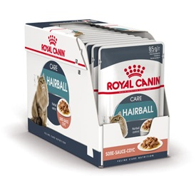 Royal Canin Adult Hairball Care Vleesbrokjes in Vleessaus
