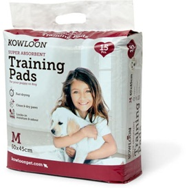 Kowloon Puppy Trainer Pads Medium 45 x 60 cm