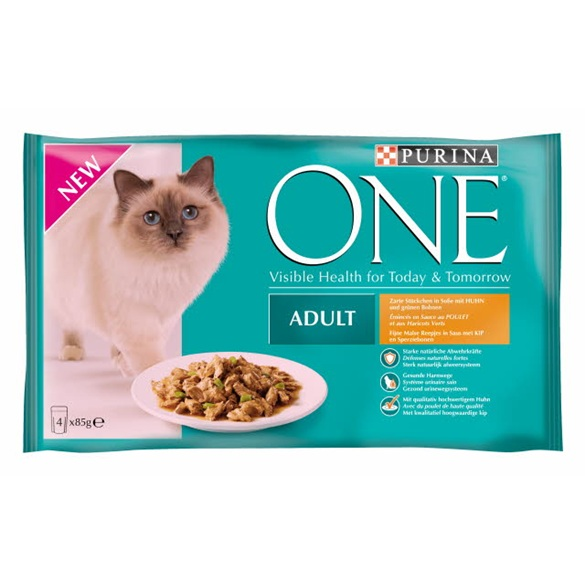 Purina ONE Adult Kip In Gelei