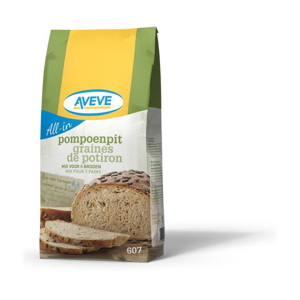 AVEVE All-in Brood Met Pompoenpitten