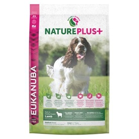 Eukanuba NaturePlus+ Tarwe vrij - Adult Medium Breed Lamb