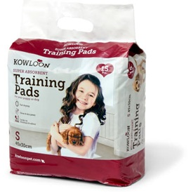 Kowloon Puppy Trainer Pads Small 30x45 cm