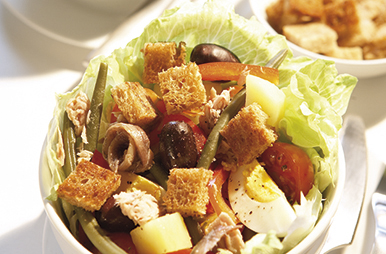croutons van omega 3-brood