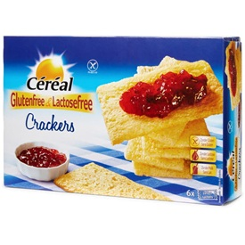 Cereal Crackers Glutenvrij 250 g