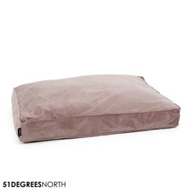 51 Degrees North Velvet - Boxpillow - Velour Rosa Roze
