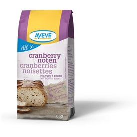 AVEVE All-in Cranberry-notenbrood 0,5 kg